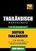 Cover-Bild zu Wortschatz Deutsch-Thailändisch für das Selbststudium - 7000 Wörter (eBook) von Taranov, Andrey