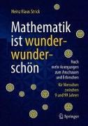 Cover-Bild zu Mathematik ist wunderwunderschön von Strick, Heinz Klaus