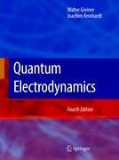 Cover-Bild zu Quantum Electrodynamics von Greiner, Walter