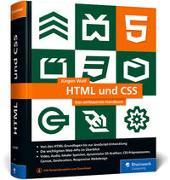 Cover-Bild zu HTML und CSS von Wolf, Jürgen