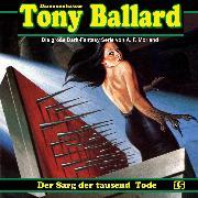 Cover-Bild zu eBook Tony Ballard, Folge 15: Der Sarg der tausend Tode