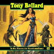 Cover-Bild zu eBook Tony Ballard, Folge 24: In den Klauen der Knochenmänner
