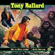 Cover-Bild zu eBook Tony Ballard, Folge 27: Sie wollten meine Seele fressen