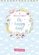 Cover-Bild zu ViktoriaSarina: Spring in eine Pfütze! Oh happy day! Wandkalender 2022