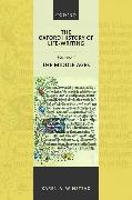 Cover-Bild zu The Oxford History of Life-Writing: Volume 1. The Middle Ages von Winstead, Karen A. (Professor of English, The Ohio State University)