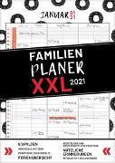 Cover-Bild zu XXL Familienplaner 2021 zum Aufhängen in DIN A3. Hochwertiger und übersichtlicher Familienkalender 2021 mit 3 bis 6 Spalten, plus einer Zusatzspalte. Wandkalender inklusive gesetzlicher und nicht-gesetzlicher Feiertage, Ferien und Zusatzinfos von Heisenberg, Sophie