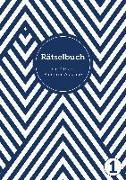 Cover-Bild zu Deluxe Rätselbuch/Rätselblock für Erwachsene und Senioren/Rentner mit Großdruck im DIN A4-Format von Heisenberg, Sophie