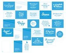 Cover-Bild zu Monaco Franze - der ewige Stenz: 25-teiliges Postkarten-Set mit Originalsprüchen von Monaco Franze (Helmut Fischer), inkl. Notizblock. Bayerische Geschenkidee mit Zitaten von Monaco Franze von Heisenberg, Sophie
