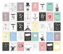 Cover-Bild zu 40 Baby Meilenstein-Karten für das 1. Lebensjahr für Mädchen und Junge. Baby Milestone Cards deutsch, zur Erinnerung der Entwicklung der ersten Monate. Geschenk-Set inkl. Box zur Aufbewahrung. Geschenkidee zur Geburt, Schwangerschaft, Taufe oder Baby Show von Heisenberg, Sophie
