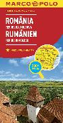 Cover-Bild zu Rumänien, Republik Moldau. 1:800'000