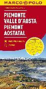Cover-Bild zu Italien Blatt 1 Piemont, Aostatal. 1:200'000