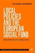 Cover-Bild zu Zimmermann, Katharina: Local Policies and the European Social Fund (eBook)