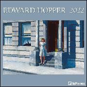 Cover-Bild zu Edward Hopper 2022 - Wand-Kalender - Broschüren-Kalender - 30x30 - 30x60 geöffnet - Kunst-Kalender von Hopper, Edward