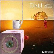 Cover-Bild zu Dali 2022 - Wand-Kalender - Broschüren-Kalender - 30x30 - 30x60 geöffnet - Kunst-Kalender von Dali, Salvador