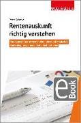 Cover-Bild zu Rentenauskunft richtig verstehen (eBook) von Schewe, Petra