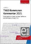 Cover-Bild zu TVöD Kommunen Kommentar 2021 (eBook) von Effertz, Jörg