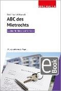 Cover-Bild zu ABC des Mietrechts (eBook) von Moersch, Karl-Friedrich