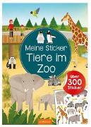 Cover-Bild zu Meine Sticker - Tiere im Zoo von Schumacher, Timo (Illustr.)