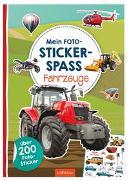 Cover-Bild zu Mein Foto-Stickerspaß - Fahrzeuge von Schindler, Eva (Gestaltet)