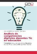 Cover-Bild zu Análisis de competencias digitales docentes Tic en educación