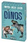 Cover-Bild zu Trumpfen Spielen Quizzen Dinos