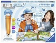 Cover-Bild zu CREATE Starter-Set: Stift und Weltreise-Buch