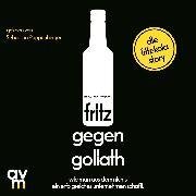 Cover-Bild zu fritz gegen Goliath (Audio Download) von Wiegert, Mirco Wolf