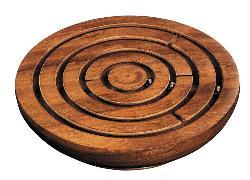 Cover-Bild zu Labyrinth, rund