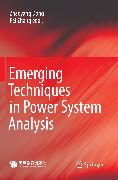 Cover-Bild zu Ali, Mohsin: Emerging Techniques in Power System Analysis (eBook)