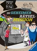 Cover-Bild zu Conte, Dominique: In geheimer Rätsel-Mission ab 10 Jahren