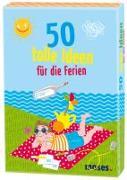 Cover-Bild zu Holtforth, Isabel Grosse (Illustr.): 50 tolle Ideen für die Ferien
