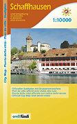 Cover-Bild zu Schaffhausen und Umgebung. 1:10'000