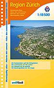 Cover-Bild zu Region Zürich Gemeinde-Atlas. 1:18'500