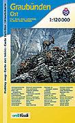 Cover-Bild zu Graubünden Ost Urlaubskarte. 1:120'000