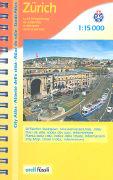 Cover-Bild zu Zürich und Umgebung Stadt-Atlas. 1:15'000