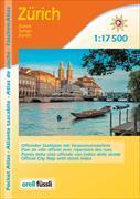 Cover-Bild zu Zürich und Umgebung Taschen-Atlas. 1:17'500