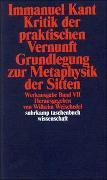 Cover-Bild zu Kant, Immanuel: Werkausgabe in 12 Bänden