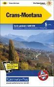 Cover-Bild zu Crans-Montana Wanderkarte Nr. 32 Matt Laminiert 1:60 000. 1:60'000