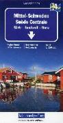 Cover-Bild zu Mittel-Schweden Blatt 4 1:250000. 1:250'000