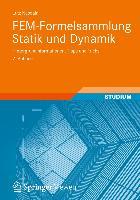 Cover-Bild zu FEM-Formelsammlung Statik und Dynamik