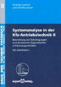 Cover-Bild zu Bd. 2: Beurteilung von Schwingungen und akustischen Eigenschaften in Fahrzeugantrieben
