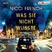Cover-Bild zu Was sie nicht wusste (Audio Download) von French, Nicci