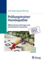 Cover-Bild zu Prüfungstrainer Homöopathie