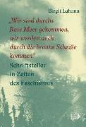 """Cover-Bild zu Lahann, Birgit: """"Wir sind durchs Rote Meer gekommen, wir werden auch durch die braune Scheiße kommen"""""""