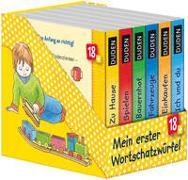 Cover-Bild zu Duden 18+: Mein erster Wortschatzwürfel von Schmiedeskamp, Katja (Illustr.)