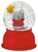 Cover-Bild zu Schneekugel-Nachtlicht Mäuschen