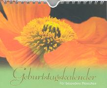 Cover-Bild zu Geburtstagskalender - Für besondere Menschen