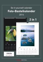 Cover-Bild zu Foto-Bastelkalender schwarz-weiss 2014