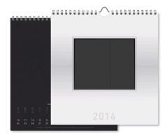 Cover-Bild zu Foto-Bastelkalender silber 2014