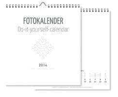 Cover-Bild zu Foto-Bastelkalender weiß 2014